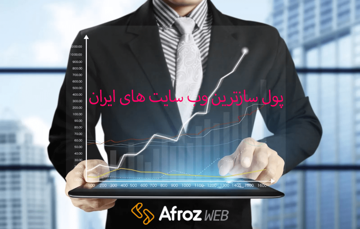 پول سازترین وب سایت های ایران