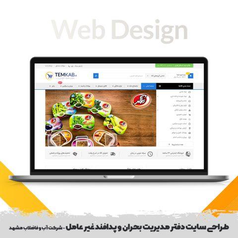 طراحی سایت تمکاب