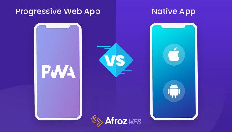 تفاوت موبایل وب اپلیکیشن و نیتیو موبایل اپلیکیشن