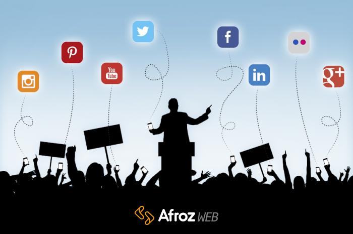 محبوب ترین شبکه های اجتماعی دنیا
