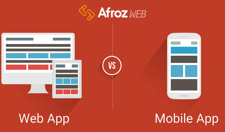 موبایل اپلیکیشن ها در مقابل وب اپلیکیشن ها