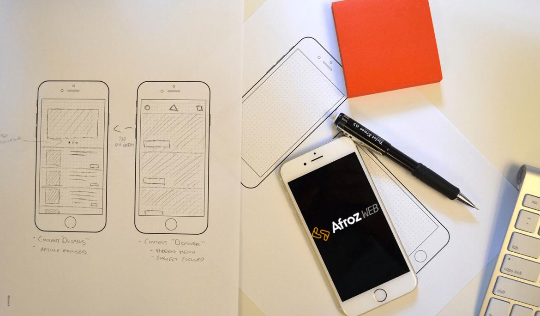 طراحی اپلیکیشن موبایل را از کجا شروع کنیم؟