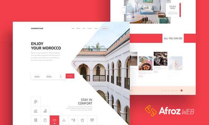 طراحی وب سایت اختصاصی هتل